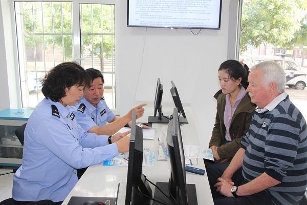 青山分局首次利用微信实现外管工作沟通无障碍