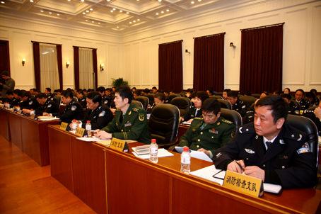 沈阳警方部署开展缉枪治爆及校园医院安全专项整治工作