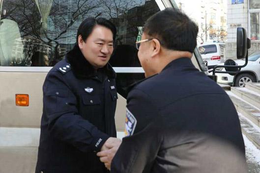 刘国秀副市长看望慰问节日期间值班民警