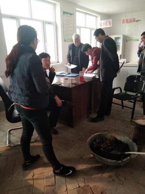 敖汉旗长胜司法所组织社区服刑人员进行集中教育学习和公益劳动