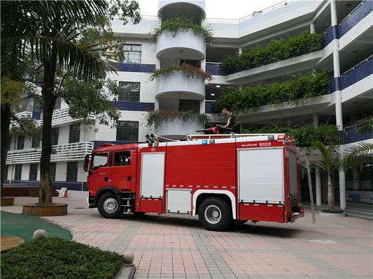 福田南园街道南华社区开展消防应急救援演练