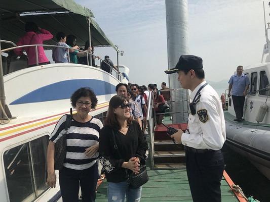 盐田海事局成功处置一起客船主机故障事件