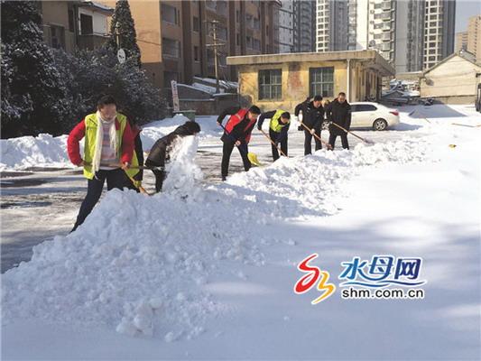 公路清雪昼夜奋战 烟台全市普通国省干线公路基本畅通