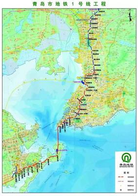 青岛地铁1号线,13号线,6号线近日都有新进展