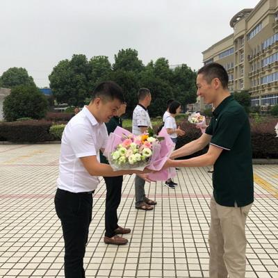 """平湖市教育局举行""""万名教师支教计划""""教师进疆出征仪式"""